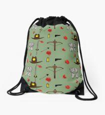 TWD design Drawstring Bag