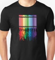 Spattered Crayons  T-Shirt