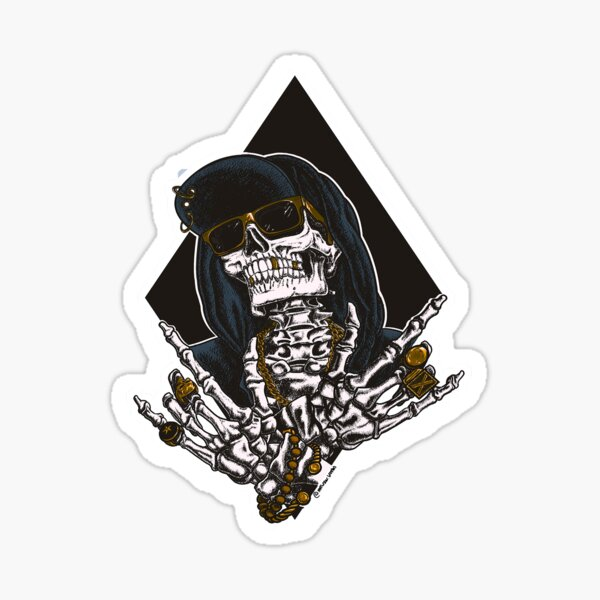 Dead G Sticker