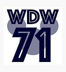 wdw jersey Photographic Print