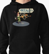 """The wizard casts """"Magic Missile"""" Pullover Hoodie"""