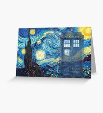 The Doctor and Vincent Greeting Card