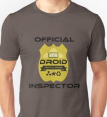 Official Droid Inspector T-Shirt