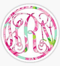 hRn Monogram Sticker