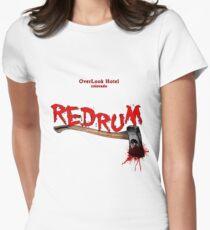 overlook hotel redrum Women's Fitted T-Shirt