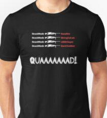 Quad Feed (Intervention) Unisex T-Shirt