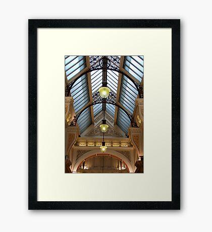 Victorian skylight Framed Print