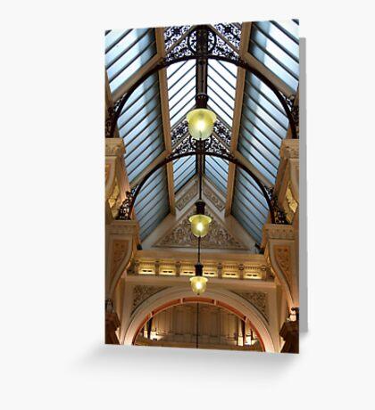 Victorian skylight Greeting Card