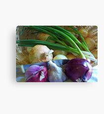 Onions in the Bag Canvas Print