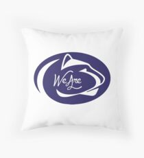 Penn State We Are Throw Pillow