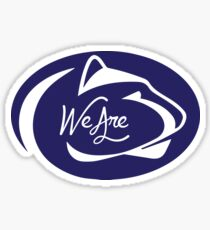 Penn State We Are Sticker