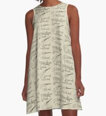Wingardium Leviosa A-Line Dress