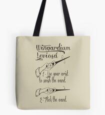 Wingardium Leviosa Tote Bag