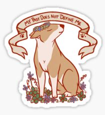 Inspirational Bull Terrier Sticker
