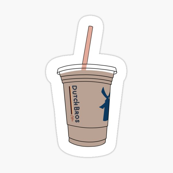 Dutch Bros Kaffee Sticker