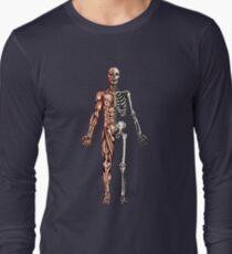 Demi Muscle - Demi Squelette T-shirt manches longues