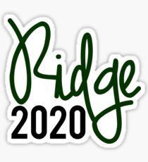 Ridge Class of 2020 Sticker