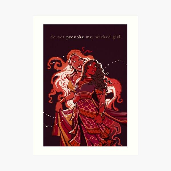 Helen & Aphrodite Art Print