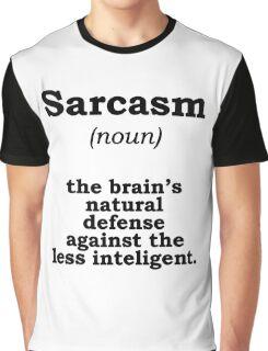 Sarcasm Graphic T-Shirt
