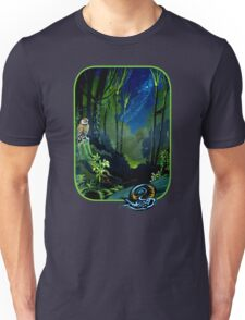 Silent Night in the New Zealand Forest Unisex T-Shirt