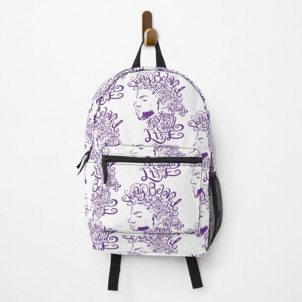 Dearly Beloved Purple Prince   Backpack