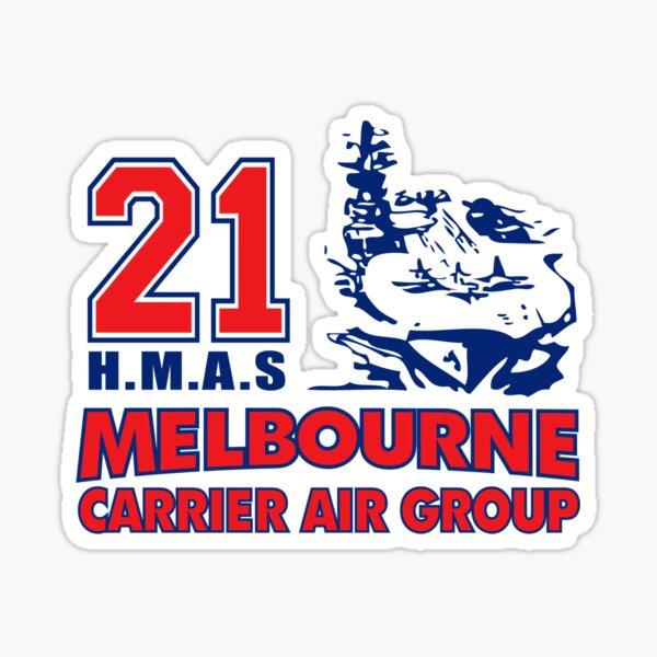 HMAS Melbourne Carrier Air Group Sticker