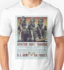 Vintage poster - Aviation Cadet Training Unisex T-Shirt