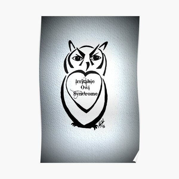 Irritable Owl Syndrome Poster