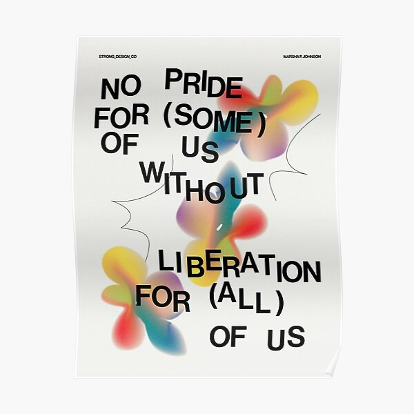 Pride - Marsha P. Johnson Poster