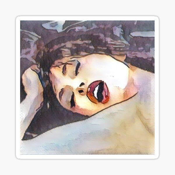 'Orgasmic' Robbin Young (digital art). Sticker