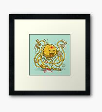 Wrecker The Robot Framed Print