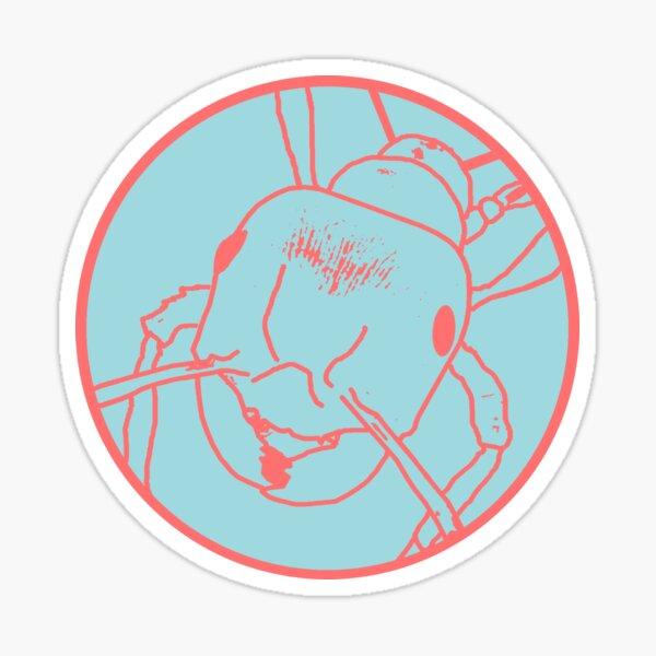 Fire Ant Design (Pastel Theme 5) Sticker