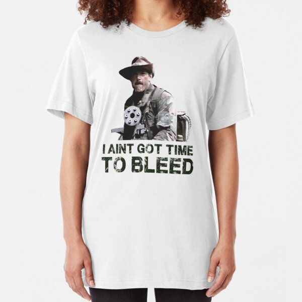 Predator I Aint Got Time To Bleed Slim Fit T-Shirt