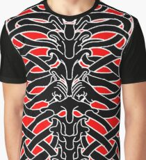 Shoulders and Spine Celtic Design Graphic T-Shirt