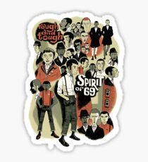 Skinhead : Spirit Of 69 Sticker