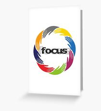 focus Greeting Card