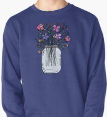 Einmachglas mit Blumen Pullover