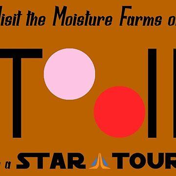 Visit Tatooine by thedisneydude