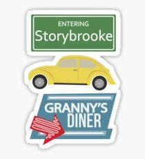 Once Upon a Time - Storybrooke Sticker