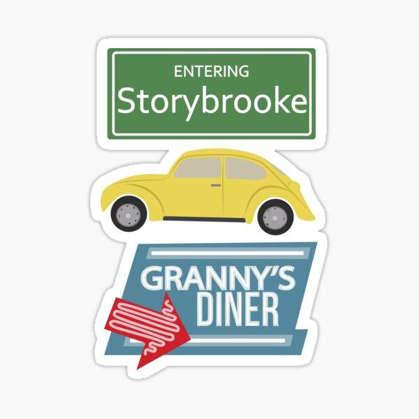 Il était une fois - Storybrooke Sticker