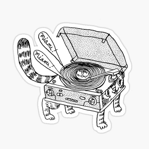 Chat tournant  Sticker