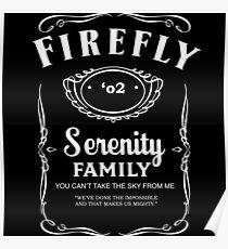 Firefly Whiskey Poster