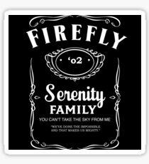 Firefly Whiskey Sticker
