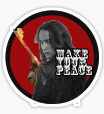 "Wynonna Earp ""Make Your Peace"" Sticker"