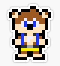Pixel Banjo Sticker