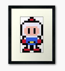 Pixel Bomberman Framed Print