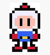 Pixel Bomberman Photographic Print