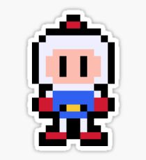 Pixel Bomberman Sticker