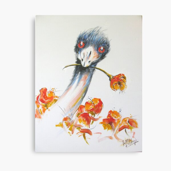 """""""A Flower for My Lady?"""" Canvas Print"""