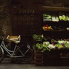 Bike and Veggies by Larry Costales